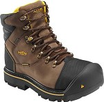 Men's KEEN Dark Earth Waterproof 6 Inch Steel Toe Boot