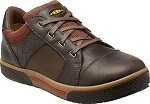 Men's KEEN Cascade Brown/Bombay Brown Steel Toe Low