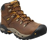 Men's KEEN Cascade/Gold Waterproof Steel Toe Hiker