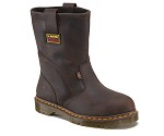 Men's Internal Met Guard Brown 2295 Steel Toe EH Wellington Boot