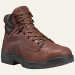 Timberland  Coffee 6 inch Titan Alloy Toe Boot