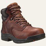 "Women's Timberland  Brown 6 Inch Titan Safety Toe 6"" Boot"