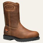 Men's Timberland  Brown Titan Safety Toe Waterproof Wellington