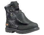 Men's Timberland Waterproof 8 Inch Steel Toe Met Guard Boot Black Ever-Guard�