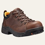 Women's Timberland  Brown Titan Safety Toe Oxford