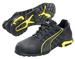 Men's Puma Black /Yellow  Aluminum Safety Toe  SD Athletic