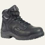 "Women's Black Titan Safety Toe 6"" Boot"