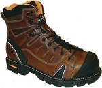 Men's Thorogood  Brown  Composite Toe 6 Inch Lace to Toe Boot