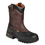 "Men's Thorogood Brown WP Composite Toe 8"" Wellington Z-Trac Boot"