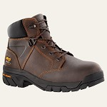 "Men's/Women's Timberland  Brown 6"" Alloy Safety Toe Boot"