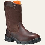 Men's Timberland  Brown Steel Toe Wellington