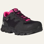 Women's Timberland Black/Pink SD Alloy Safety Toe Athletic
