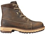 Women's Timberland  Brown 6 Inch Alloy Safety Toe