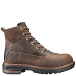 "Women's Timberland Brown Kaffe 6 Inch Alloy Safety Toe 6"" Boot"