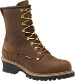 Men's Carolina Safety Toe  8 Inch  Waterproof Logger