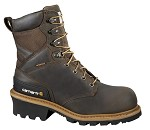 Carhartt Vintage Saddle Leather Waterproof Composite Toe Logger