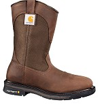 Carhartt Dark Bison Brown 11 Inch Steel Square Toe Wellington