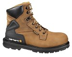 Carhartt Bison Brown Waterproof 6inch Steel Toe Boot