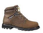 Carhartt Dark Brown 6inch Steel Toe Boot
