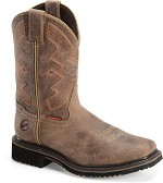 Women's Double H Square Composite Toe Wellington