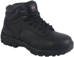 "BLACK EH COMP TOE 6"" WORK BOOT"