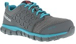 Women's Reebok Grey/Teal Alloy Toe Athletic