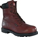 "BROWN EH WP 8"" COMP TOE WORK BOOT"