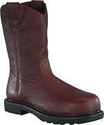 "BROWN EH 11"" COMP TOE WELLINGTON BOOT"