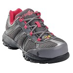 Women's Nautilus  Grey/Pink  ESD Steel Toe Athletic