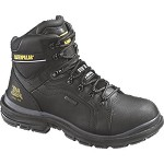 Men's Caterpillar Black Waterproof Steel Toe 6 Inch Manifold Tough