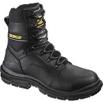 Men's Caterpillar Black Waterproof Steel Toe 8inch Generator Boot
