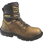 Men's CaterpillarBrown Waterproof Steel Toe 8inch Generator Boot
