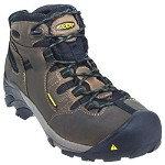 Men's KEEN Brindle/Bronze Green Steel Toe Hiker