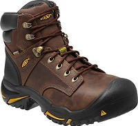 Men's KEEN Cascade Brown Waterproof  Built in America Steel Toe Boot