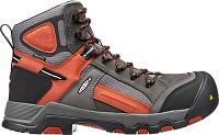 Men's KEEN Gargoyle/Burnt Orange Waterproof CompToe Hiker