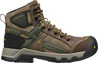 Men's KEEN Brown/Forest Waterproof Comp Toe Hiker
