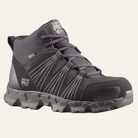 Men's Black/Grey Alloy Safety Toe SD High Top Athletic