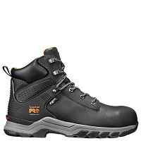 "Men's Timberland Black Waterproof Composite Toe  6"" Boot"