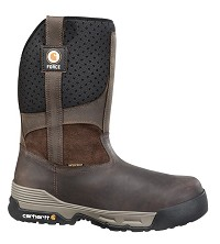 Carhartt Brown 10 Inch Waterproof Composite Toe Wellington