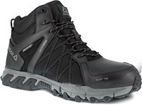 Men's Reebok Black Alloy Toe Hi Top Athletic