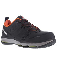 Men's Reebok Black/Orange Alloy Toe EH Athletic