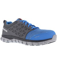 Men's Reebok Blue/Grey Alloy Toe Athletic