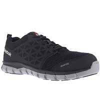 Men's Reebok Black/Grey Alloy Toe Athletic