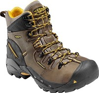 Men's KEEN Slate/Black Waterproof Steel Toe Hiker