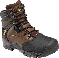 Men's KEEN Brown/Slate/Black 6 Inch Waterproof Boot