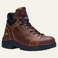 Men's Timberland  Brown TiTAN� Safety Toe Lace-to-Toe Brown
