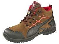 Women's Puma Brown/Orange Mid Steel Toe SD Athletic