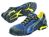 Men's Puma Blue/Yellow  Aluminum Safety Toe  SD Athletic