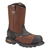 Men's Thorogood Brown Waterpoof Nylon Composite Toe Wellington