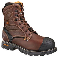 Men's Thorogood Brown Waterproof Insulated Composite Toe 8 Inch Boot